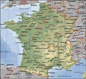 Mapas De Francia