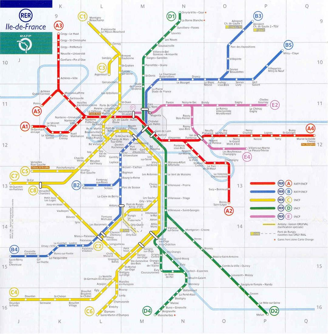 ... planos de la red de transportes de paris es mejor que los adquieras en